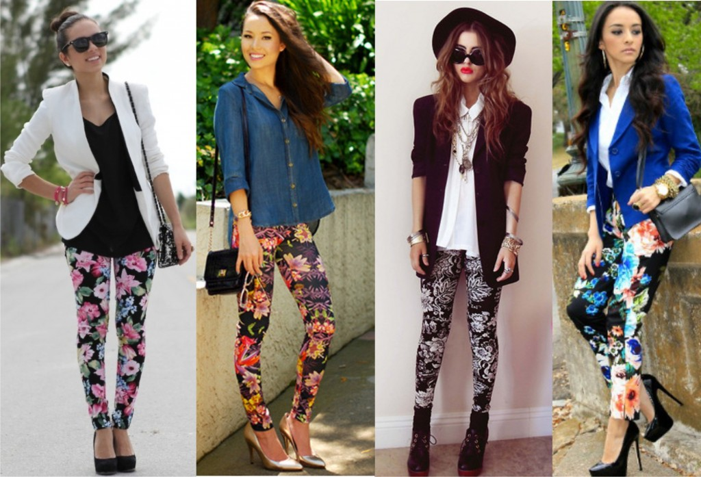 Legging Estampada no Look Casual