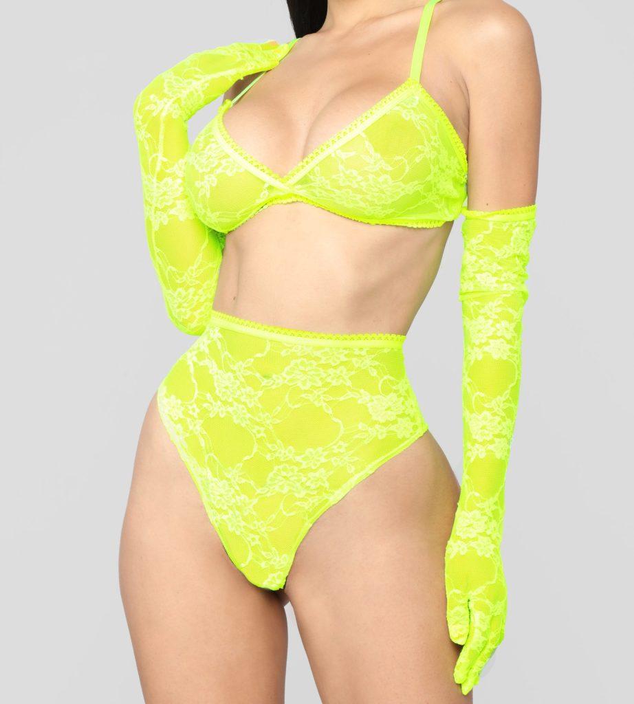 A lingerie ideal para usar na virada do ano